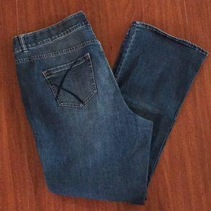 Lane Bryant Medium Wash Bootcut Jeans Size 20